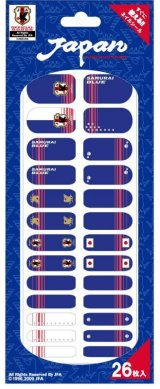 【ネイルシール】NAILISTA(ネイリスタ) 日本代表公式ライセンス取得商品 サポーターグッズ ネイルシール