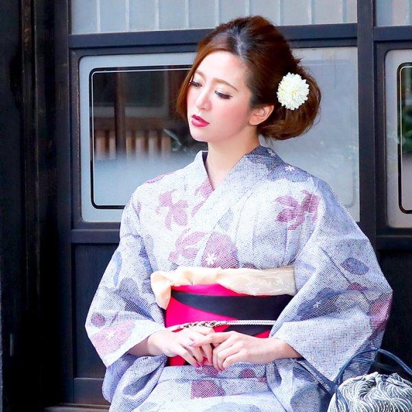 画像5: 【浴衣小物/コサージュ】ピンポンマムコサージュ髪飾り[OF03]
