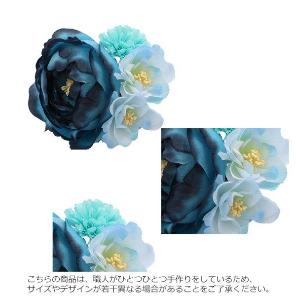 画像3: 【浴衣小物/コサージュ】フラワーコサージュ☆髪飾り[OF03]