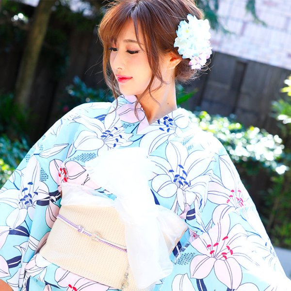 画像4: 【浴衣小物/コサージュ】小花コサージュ髪飾り[OF02]