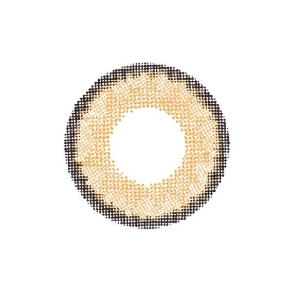 画像3: 【ドープウィンクワンデー スパークシリーズサニーヘーゼル 】度なし(1箱10枚入)/1日使い捨てカラーコンタクト【カラコン】[OF08]