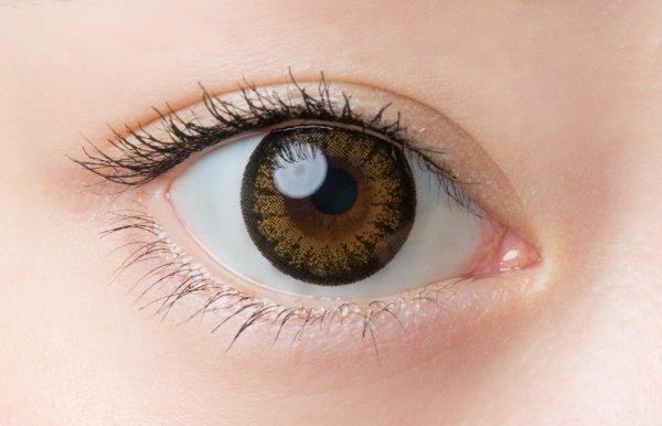 画像2: 【1Day Cara Eyes (ワンデーキャラアイ)】(ヴィヴィッドブラウン )度あり/度なし(1箱30枚入り) 1日使い捨てカラーコンタクト【カラコン】