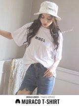 【MURACO×sugar&JEWELS】MURACOLONDON ムラココラボTシャツ/ ベーシックロゴデザイン【S-XLサイズ】