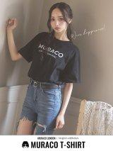 【MURACO×sugar&JEWELS】MURACOLONDON ムラココラボTシャツ/ シンプルロゴデザイン【S-XLサイズ】