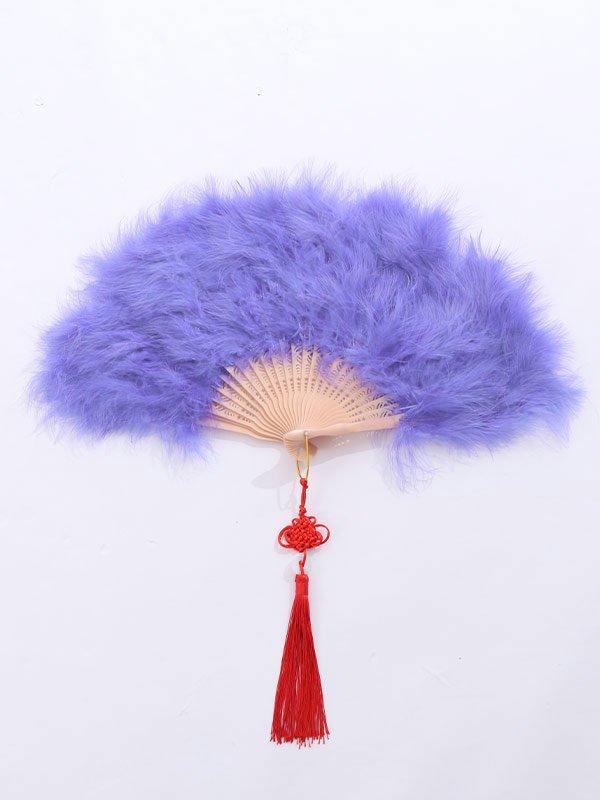 画像3: 【ハロウィン小物】ファー扇子【sugarnine】【Fサイズ/2カラー】[HC02] SE01YN