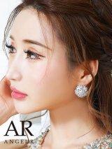【アクセサリー:ピアス】【Angel R/エンジェルアール】フラワーモチーフ/ストーン/ ピアス