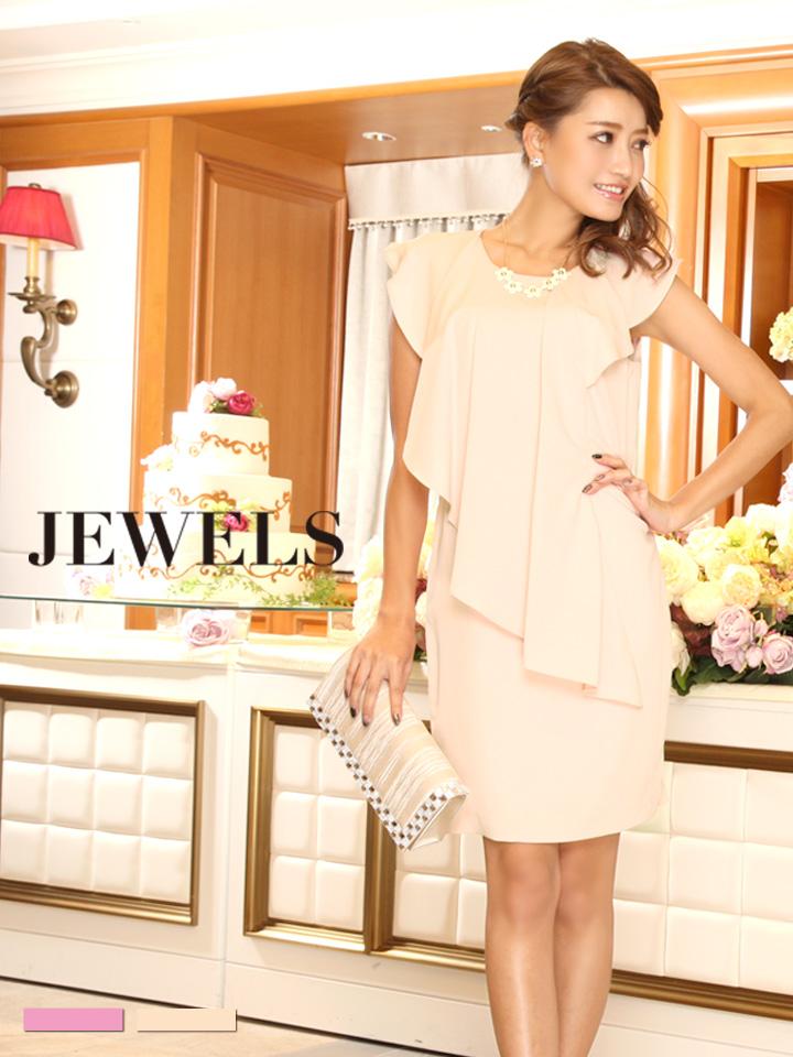 14e0d561d2755  2カラー 3サイズ  Jewels Party ジュエルズパーティー シフォンドレープドレス・2カラー・3サイズ HC02-15    260122-2JP-161